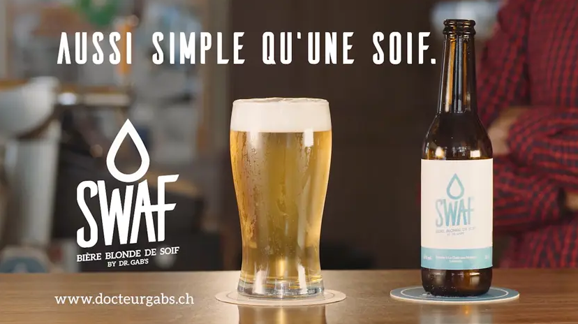 "Creatives & Dr. Gab's : a fun campaign to promote the ""SWAF"" 🍻"